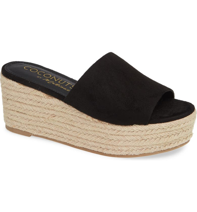 COCONUTS BY MATISSE Sandy Platform Slide Sandal, Main, color, 017