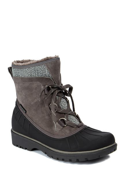 Image of BareTraps Springer Faux Shearling Lined Waterproof Cold Weather Boot