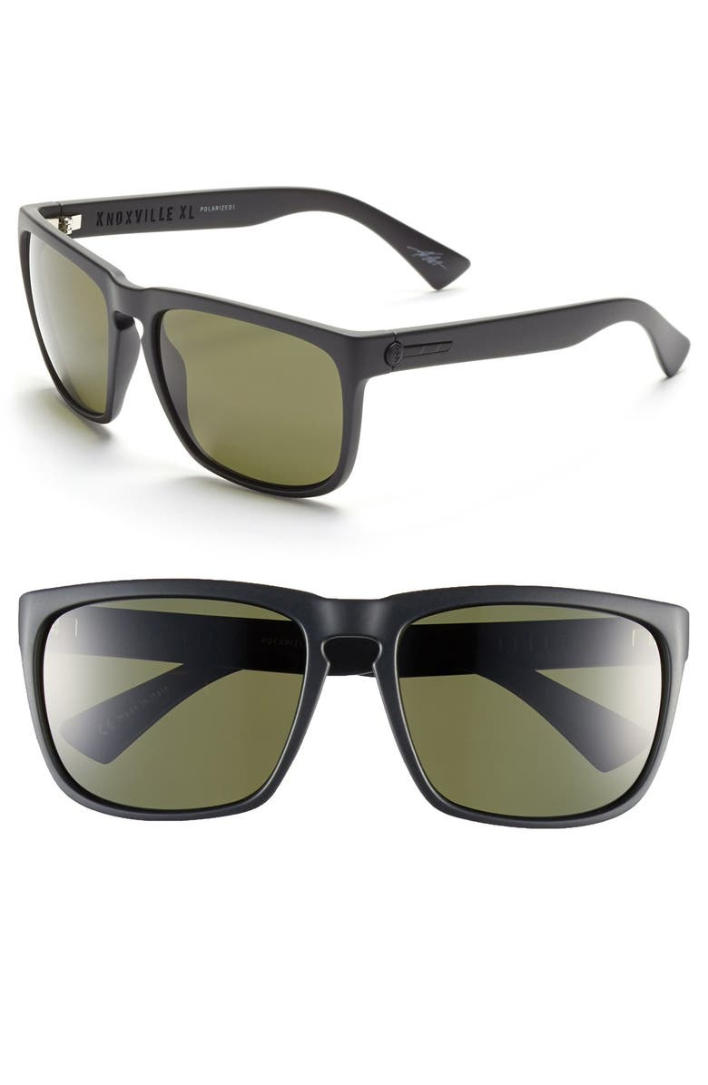 ELECTRIC 'Knoxville XL' 61mm Polarized Sunglasses, Main, color, 001