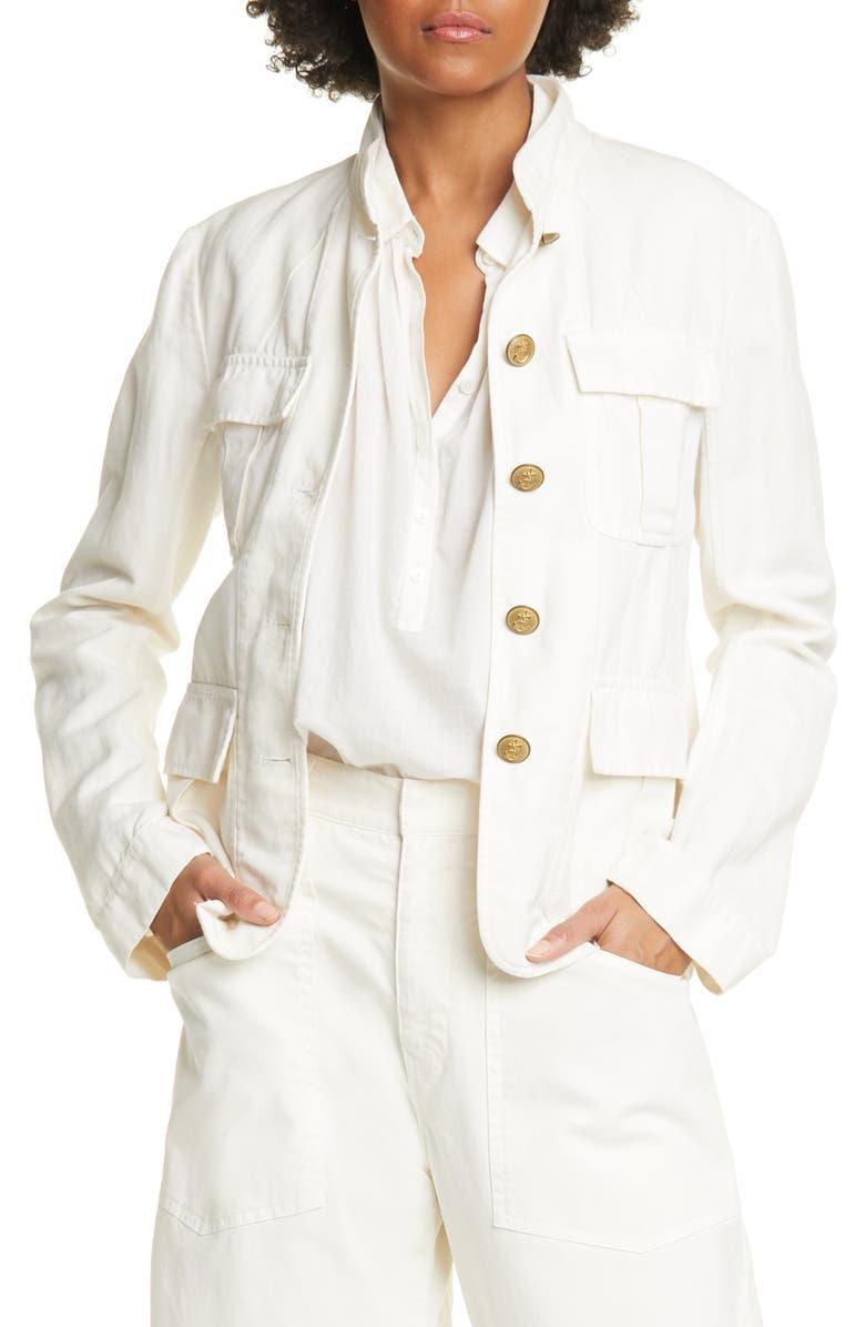 NILI LOTAN Cambre Jacket, Main, color, 145
