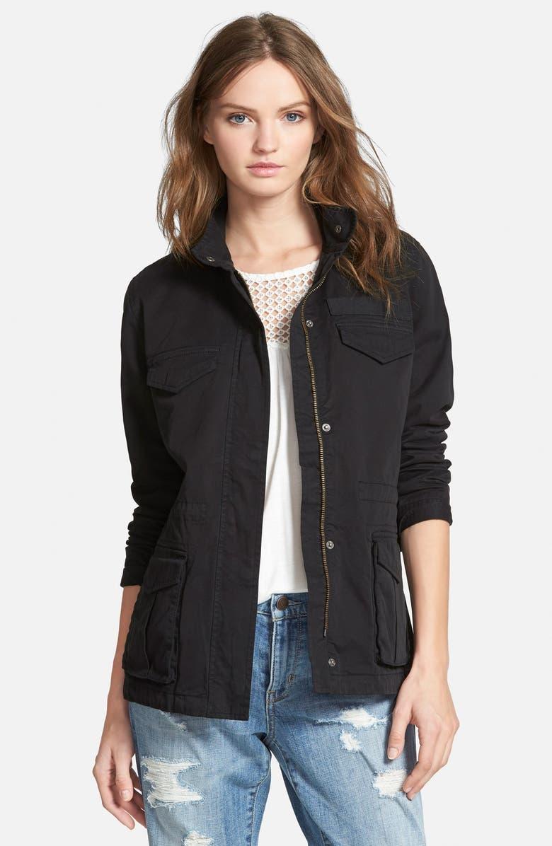 HINGE Fatigue Jacket, Main, color, 001