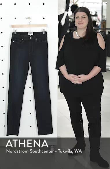 Transcend - Hoxton High Waist Straight Jeans, sales video thumbnail