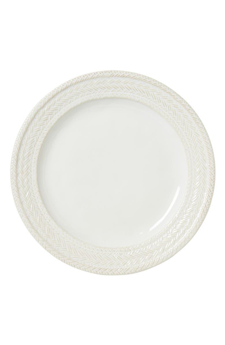 JULISKA Le Panier Dinner Plate, Main, color, WHITEWASH