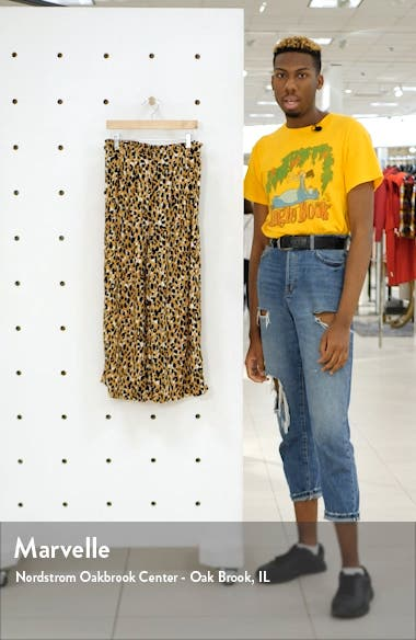 Print Paperbag Waist Pants, sales video thumbnail