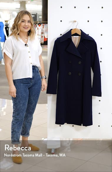Double Breasted Wool Princess Coat, sales video thumbnail