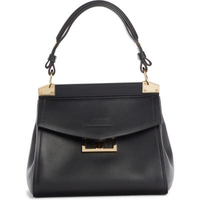 Givenchy Mini Mystic Calfskin Leather Satchel - Black