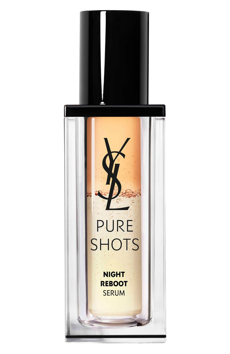 YVES SAINT LAURENT Pure Shots Night Reboot Resurfacing Serum, Main, color, NO COLOR