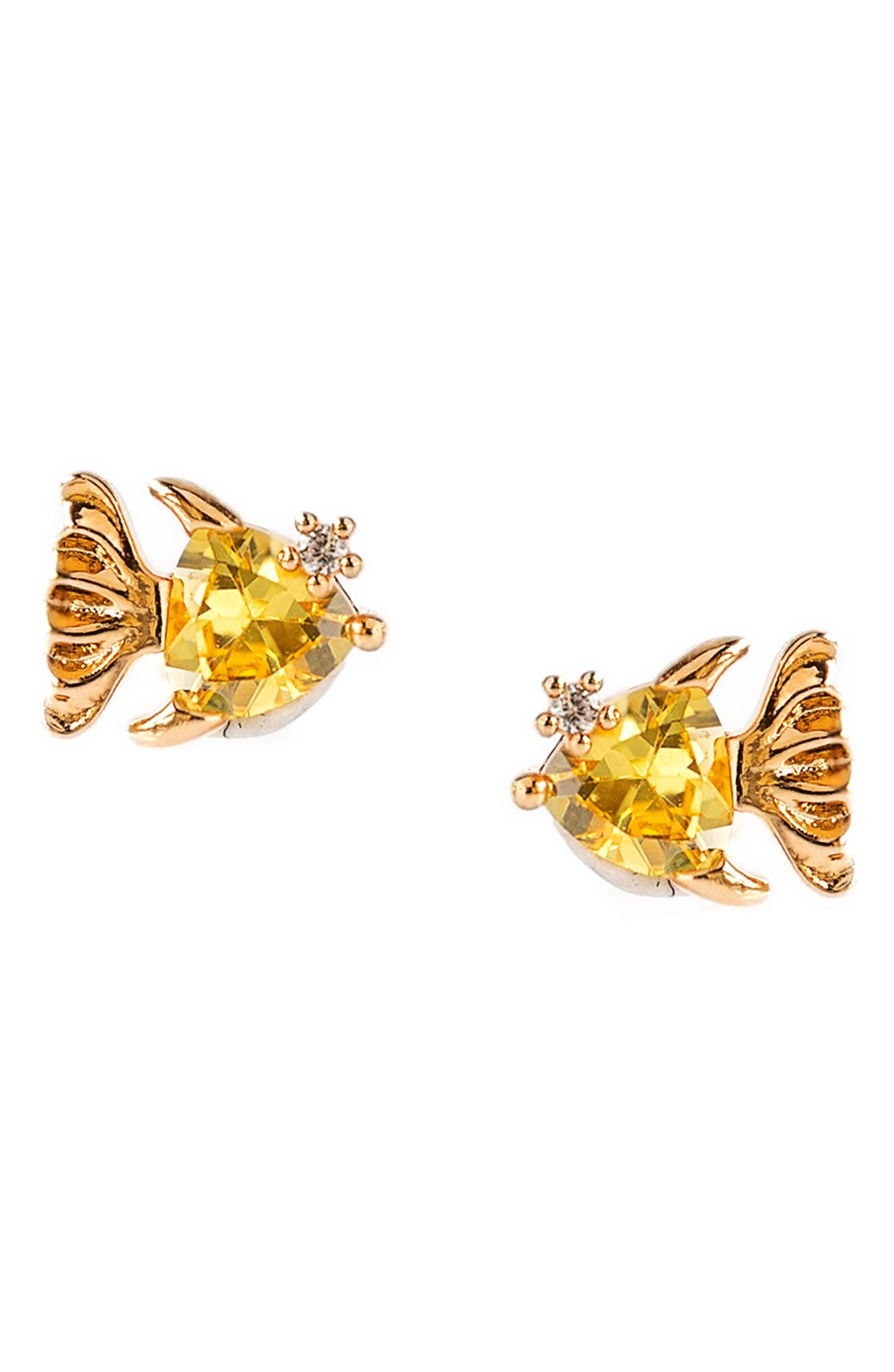 Go Fish Stud Earrings