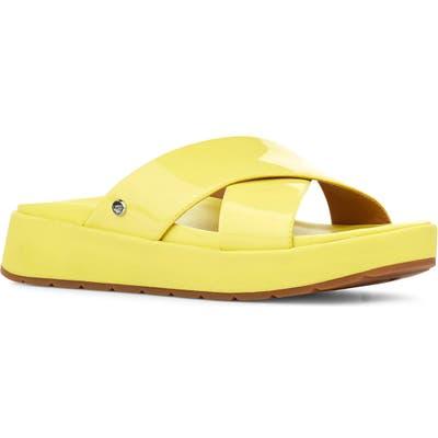 UGG Emily Slide Sandal- Yellow