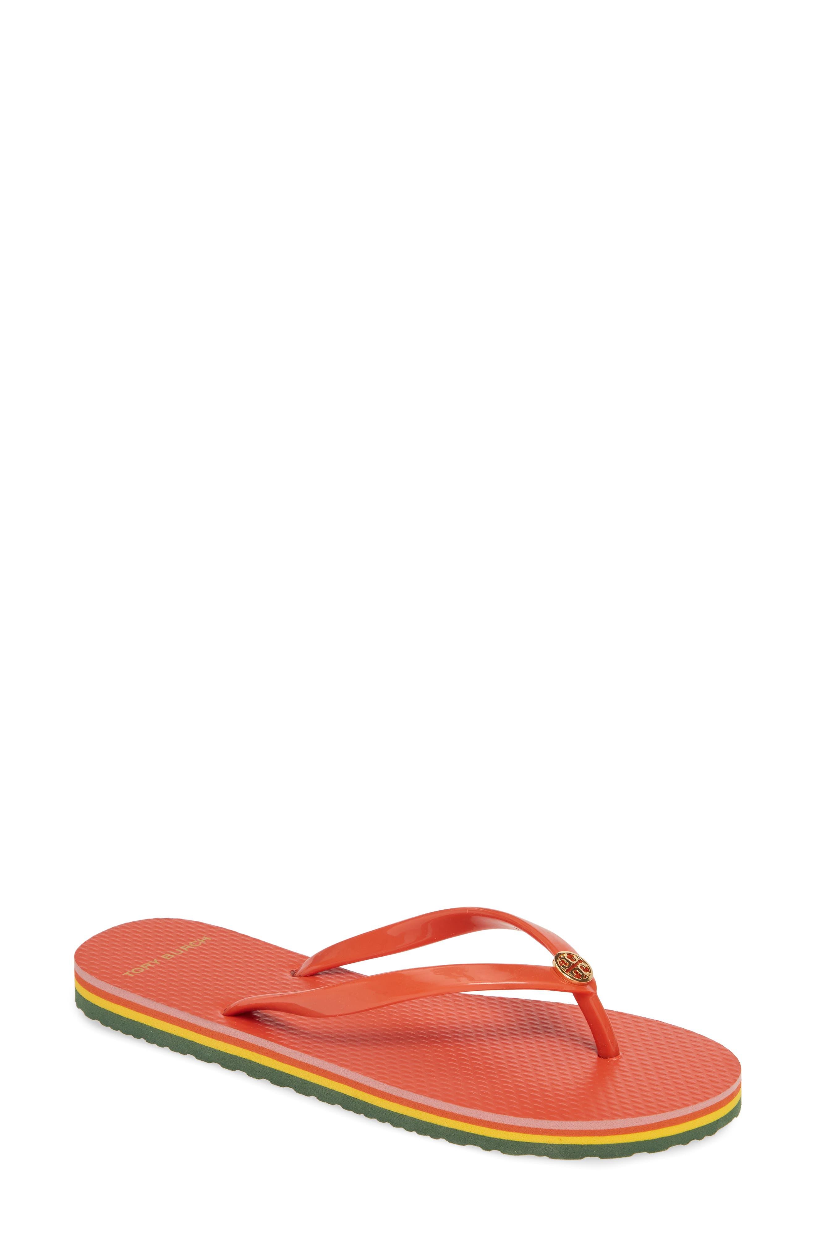 Tory Burch Thin Flip Flop, Orange