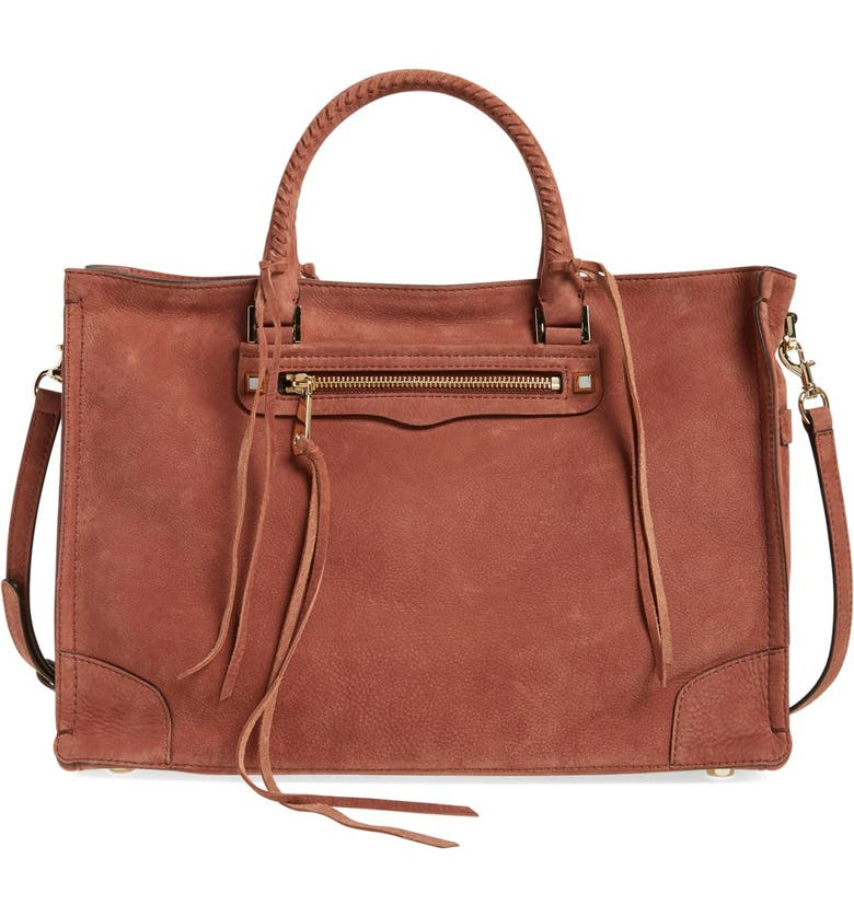 REBECCA MINKOFF 'Large Regan' Satchel, Main, color, 200