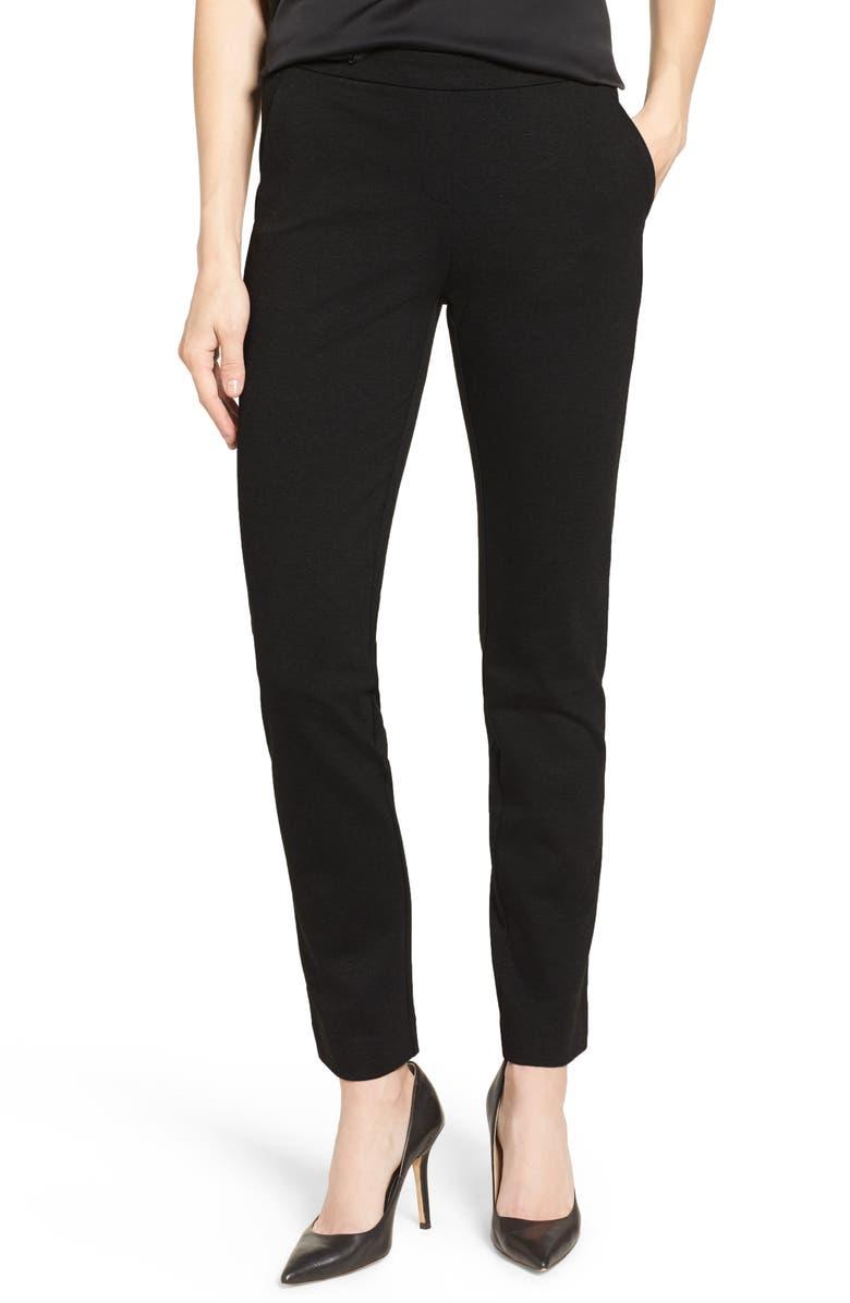 NIC+ZOE Ponte Pants, Main, color, 004