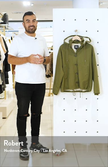 Cypress Fleece Lined Military Jacket, sales video thumbnail