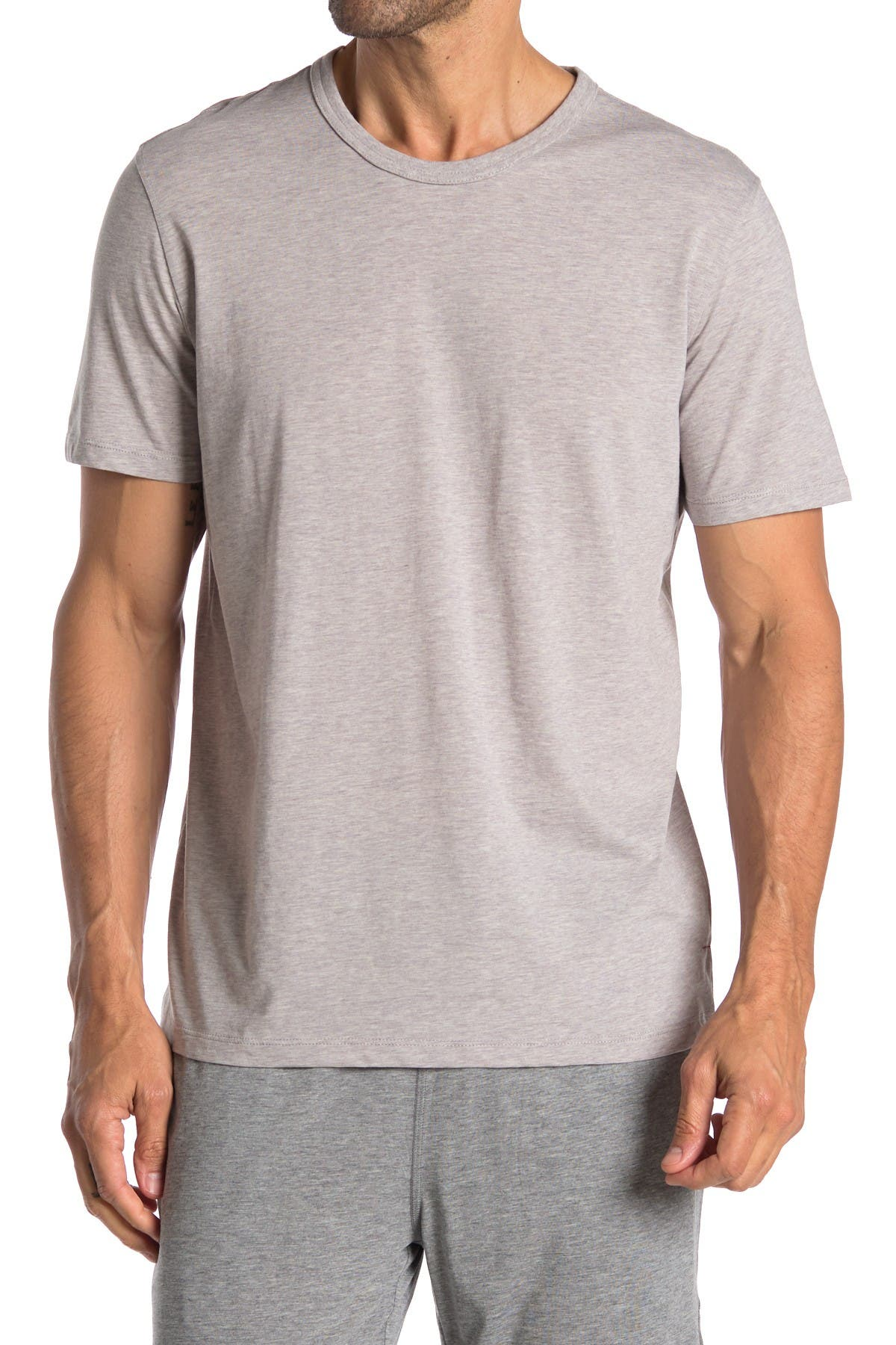 Image of Daniel Buchler Crew Neck Knit T-Shirt