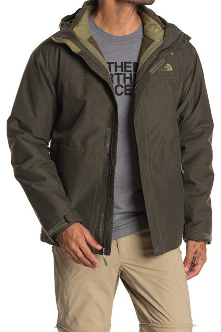 Image of The North Face Fleece Dickey Woven Jacket