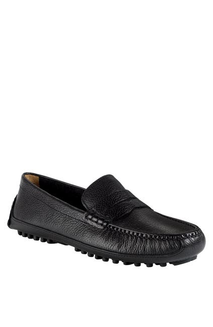 Image of Cole Haan Grant Canoe Leather Penny Loafer - Wide Width Available