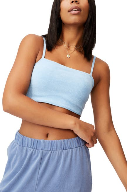 Image of Cotton On Terry Towelling Crop Top