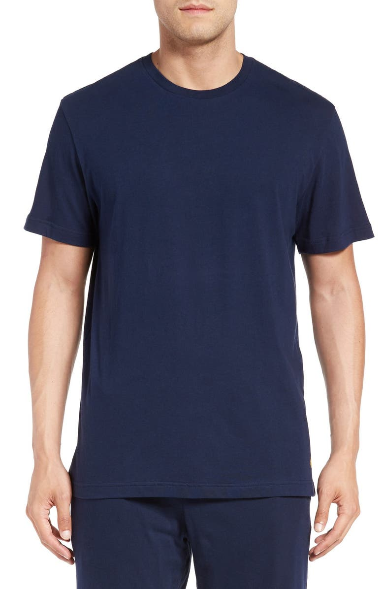 POLO RALPH LAUREN Crewneck T-Shirt, Main, color, CRUISE NAVY