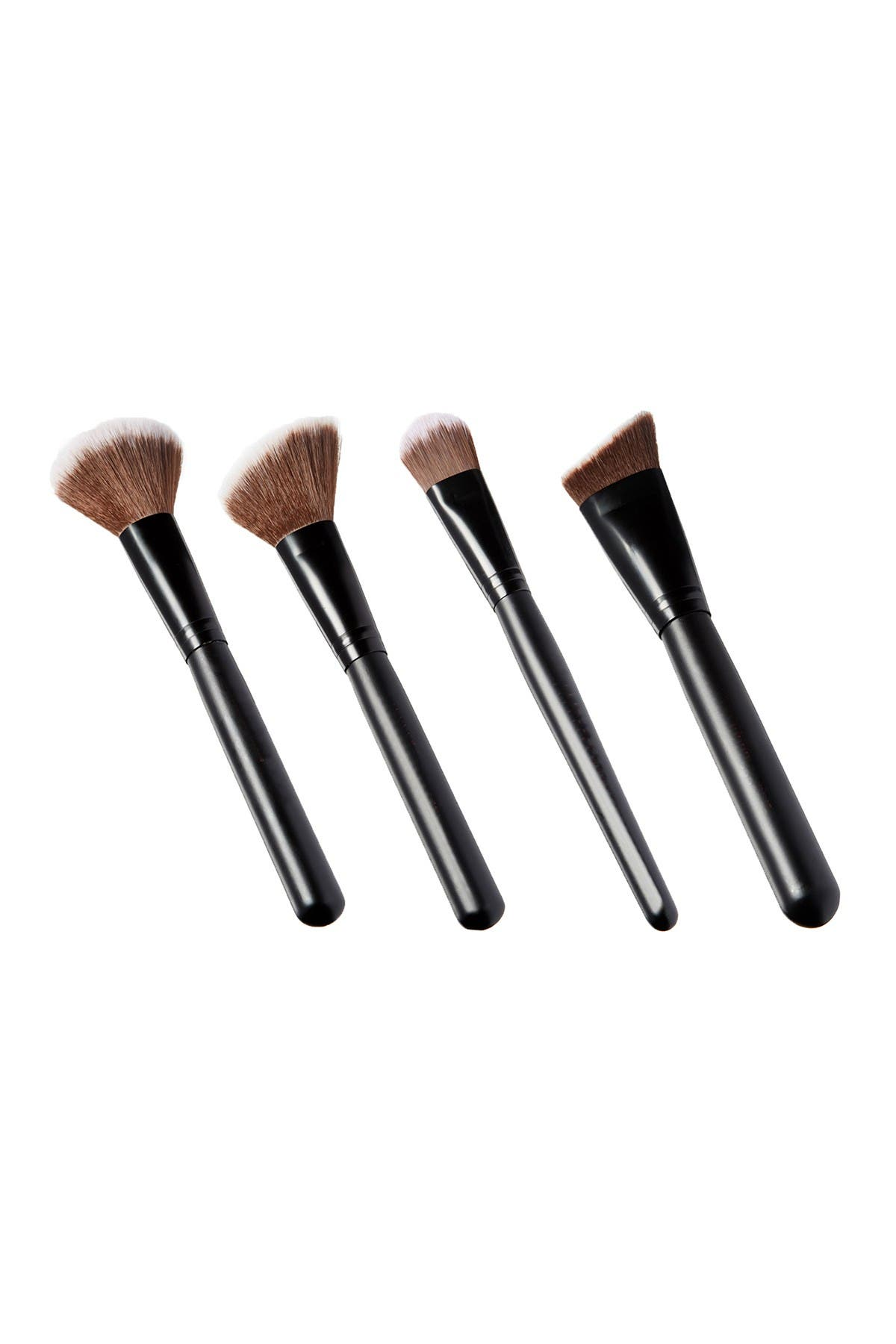 Image of Glamour Status About Face 4-Piece Face Brush Set