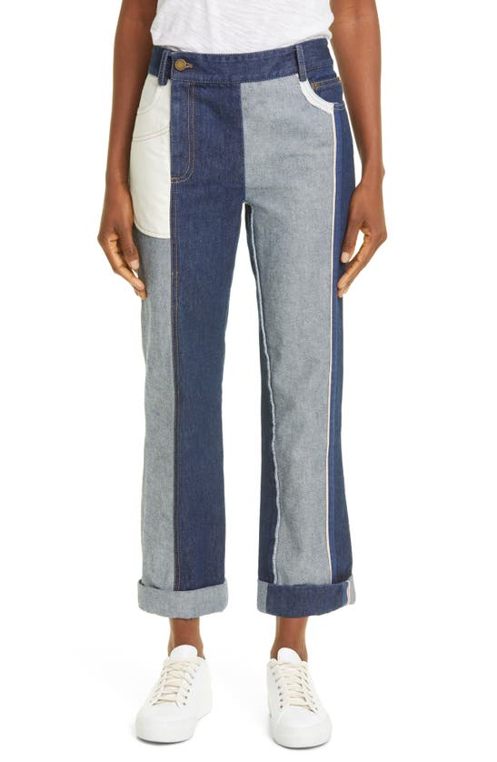 Monse INSIDE OUT STRAIGHT LEG JEANS