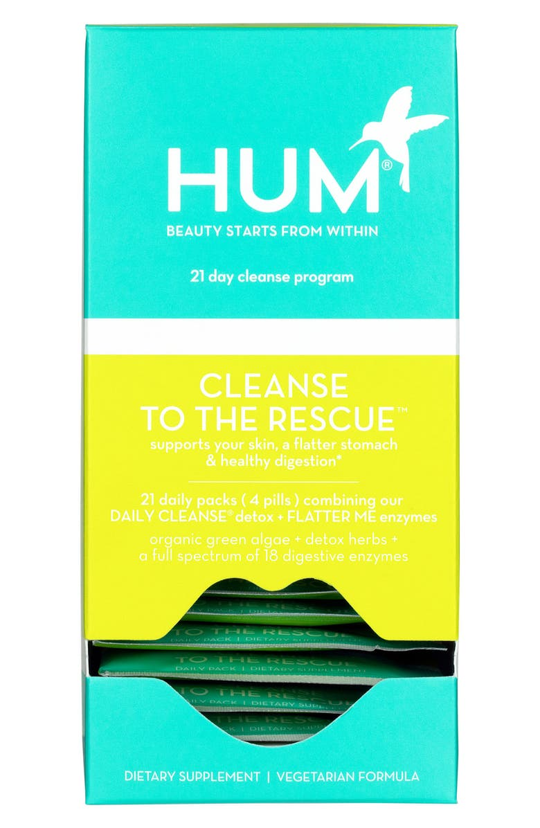 HUM NUTRITION Cleanse to the Rescue 21-Day Cleanse Regimen, Main, color, 000