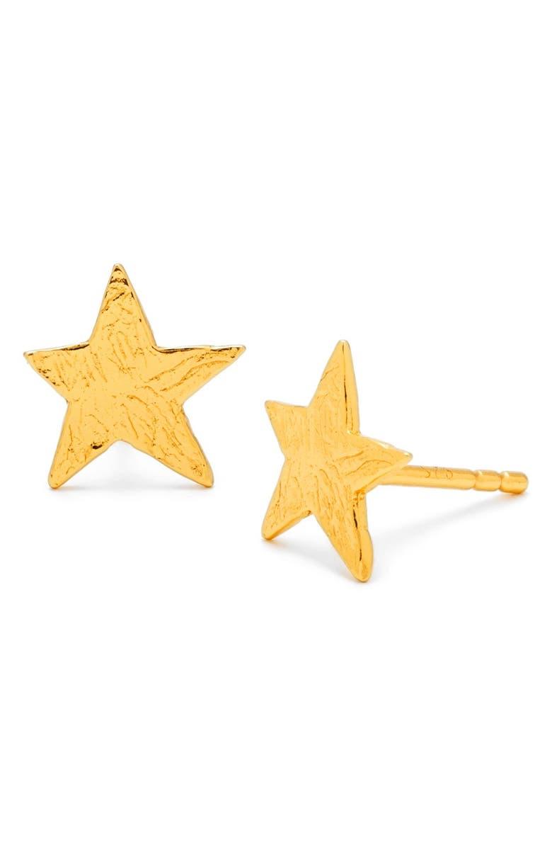 GORJANA Star Stud Earrings, Main, color, 710