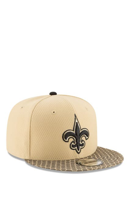 Image of New Era Cap NFL '17 9Fifty New Orleans Saints Sideline Snapback Hat