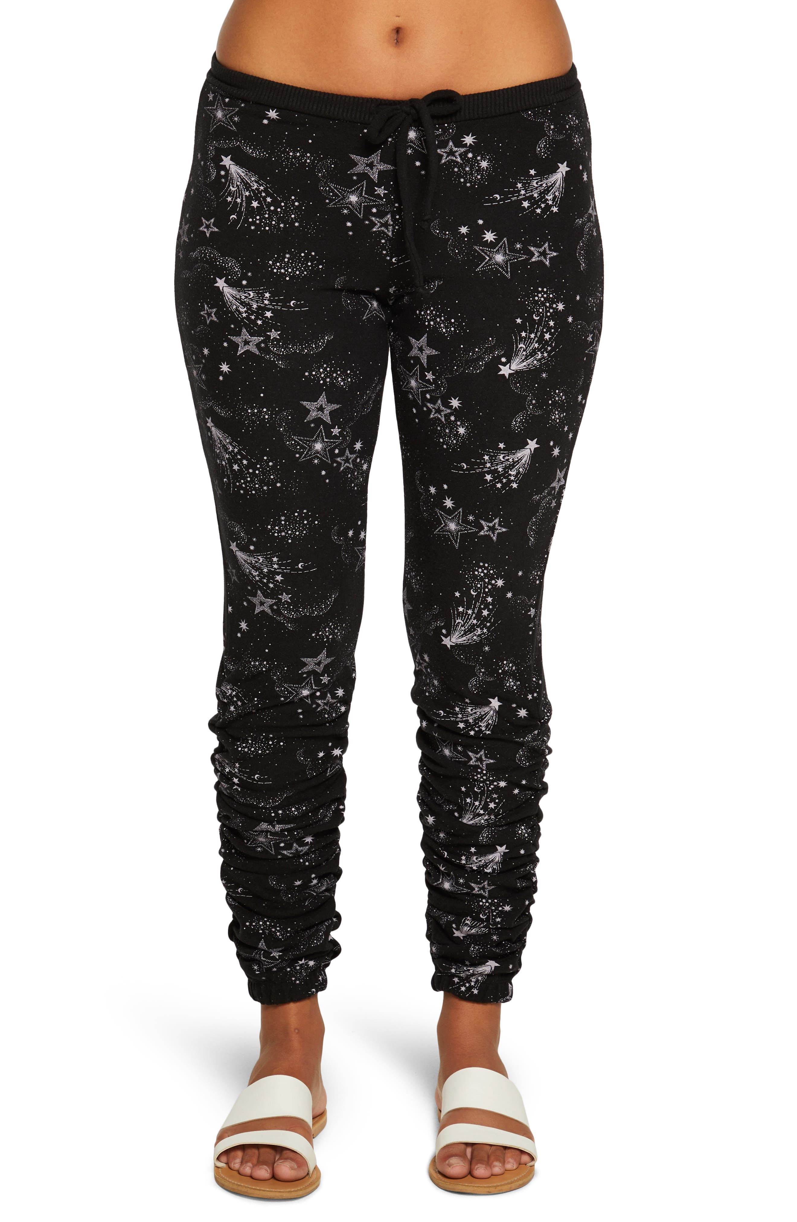 Shirred Bliss Knit Joggers
