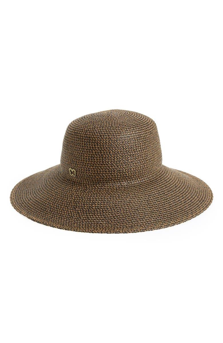 ERIC JAVITS 'Hampton' Straw Sun Hat, Main, color, ANTIQUE