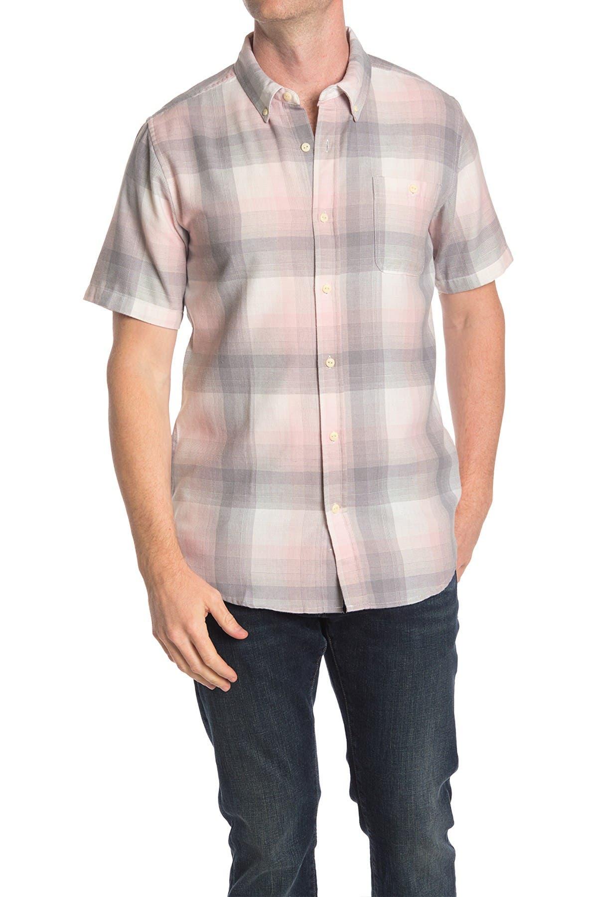 Image of Ezekiel Tarly Plaid Short Sleeve Shirt