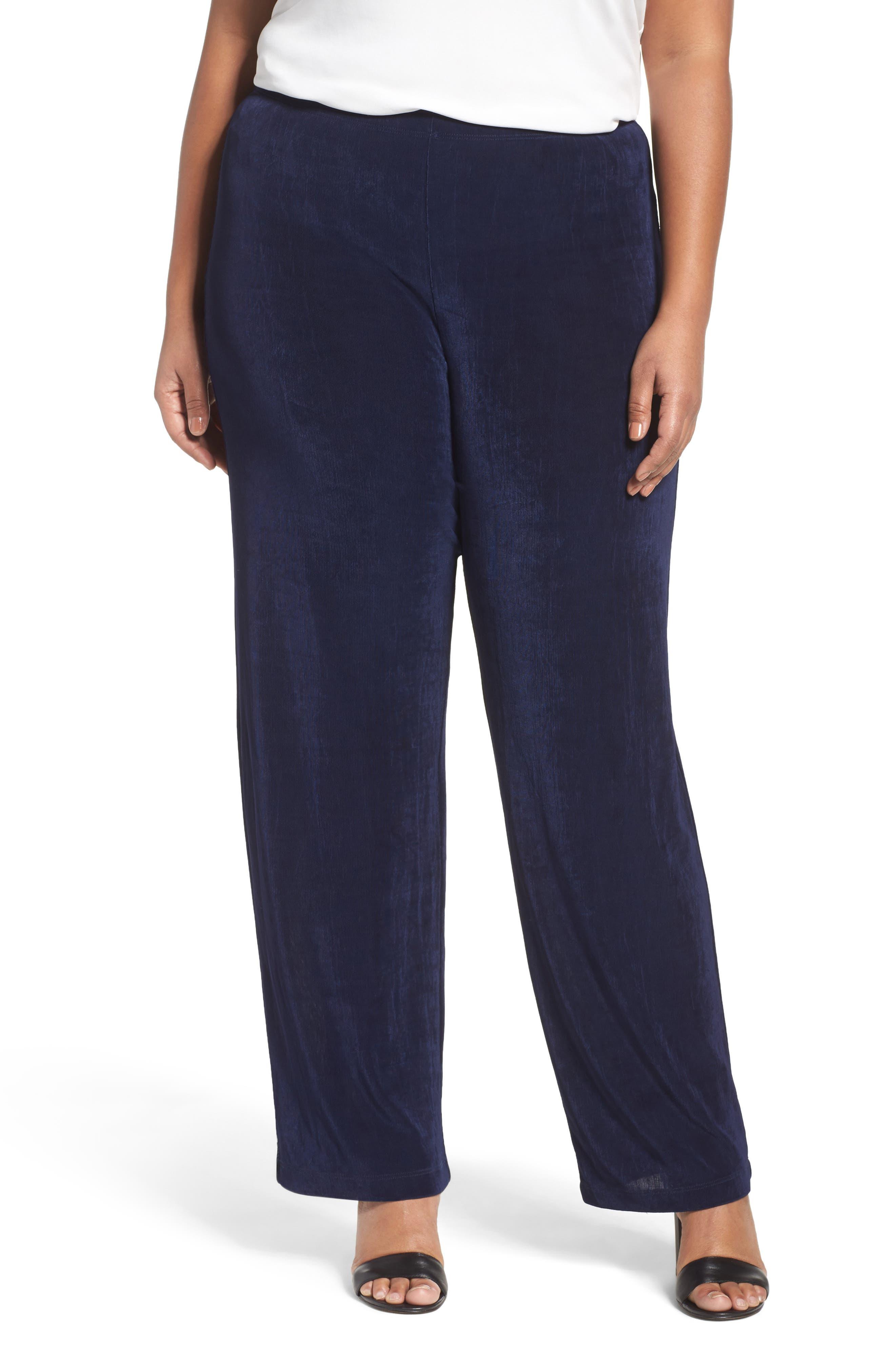 Plus Women's Vikki Vi High Rise Pull-On Pants