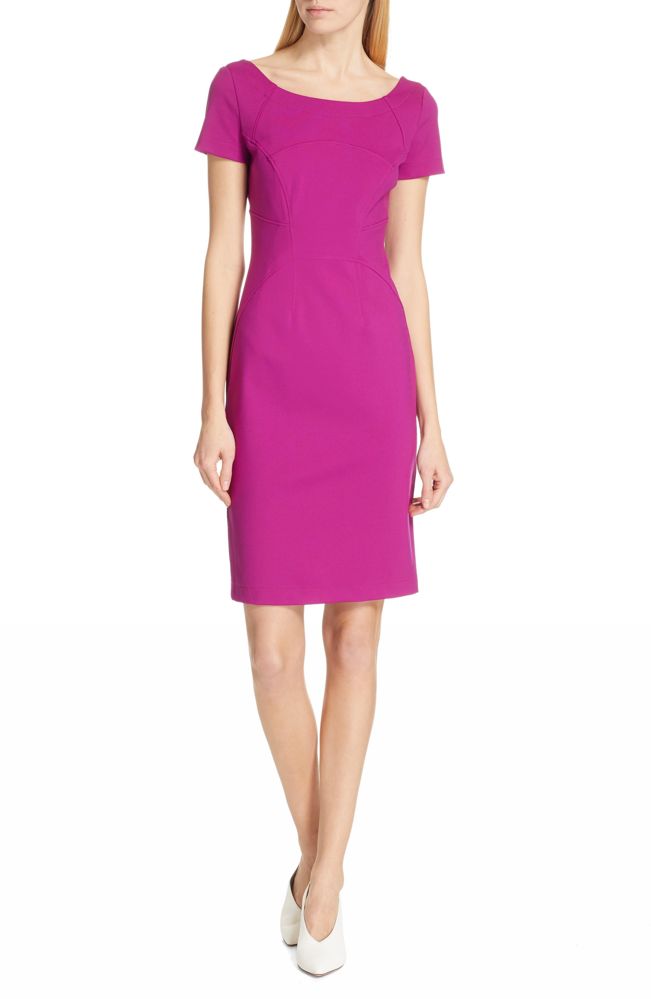 Hugo Katise Sheath Dress, Purple