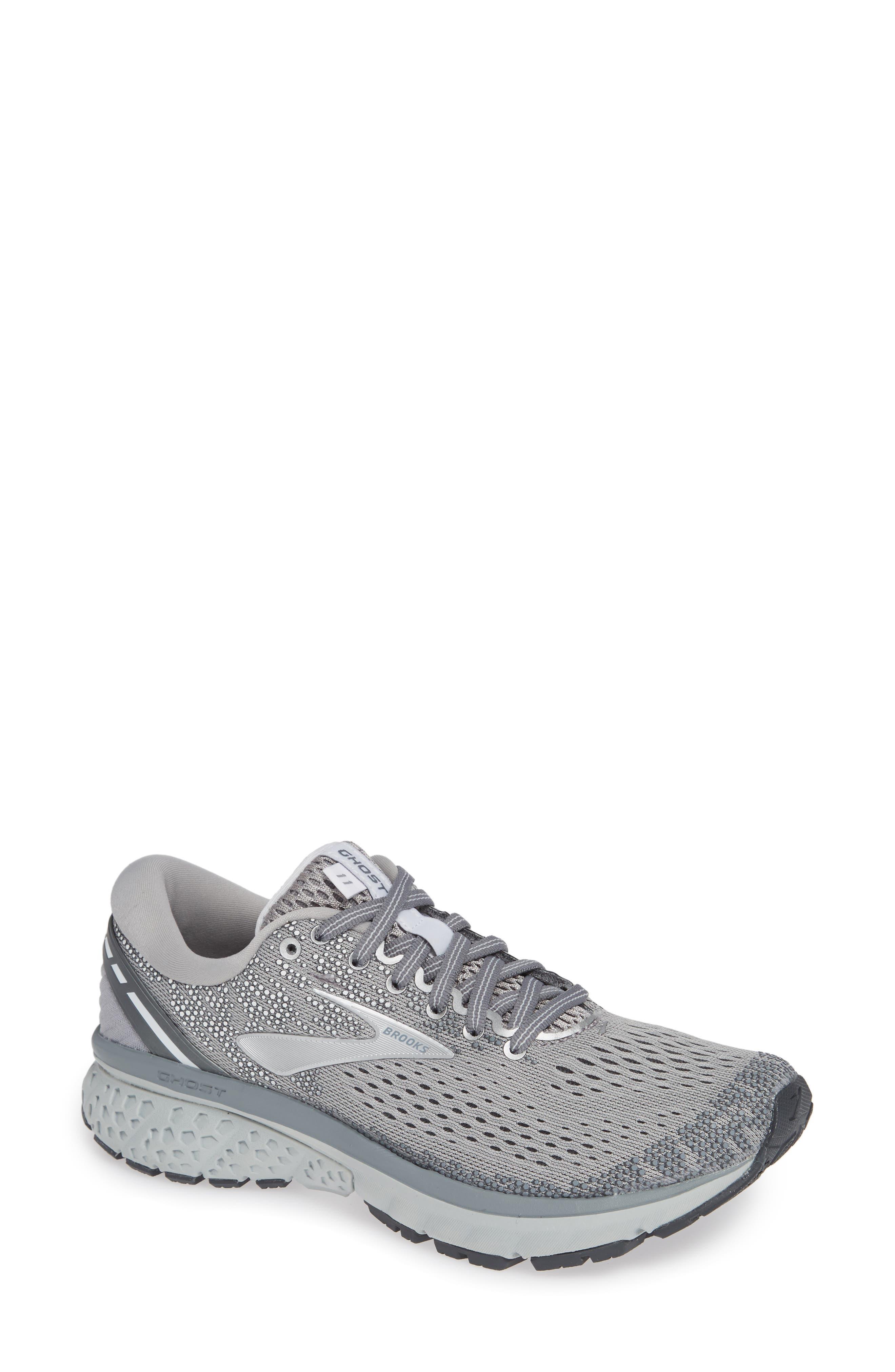 Brooks Ghost 11 Running Shoe, Grey