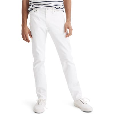 Madewell Slim Fit Jeans, White
