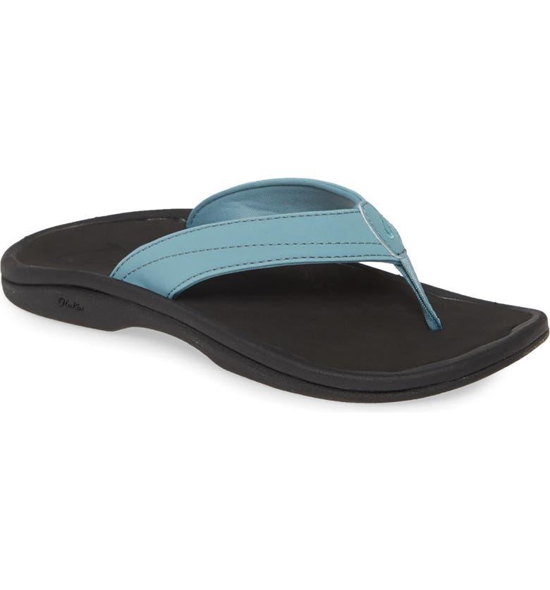 OLUKAI Ohana Sandal, Main, color, DUSK/ BLACK