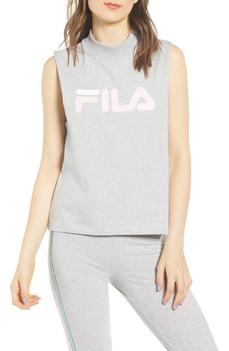 FILA Helena Muscle Tee, Main, color, 020