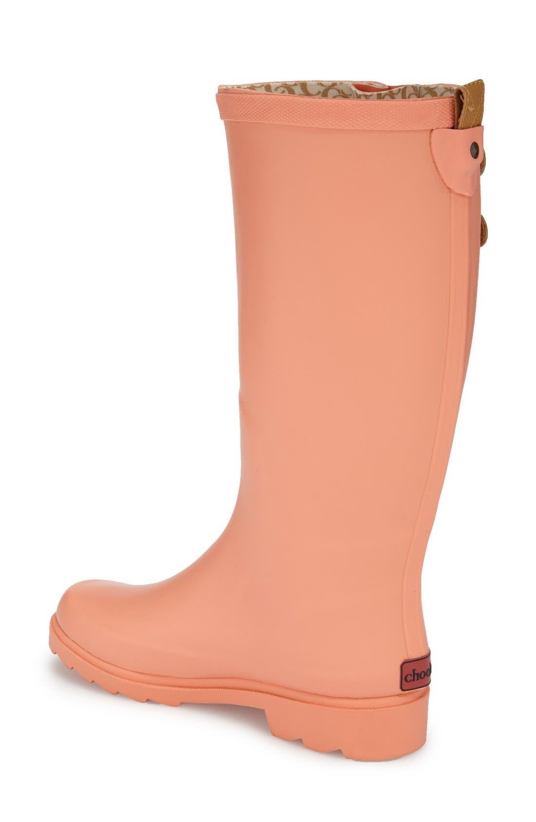 ,                             'Top Solid' Rain Boot,                             Alternate thumbnail 142, color,                             663