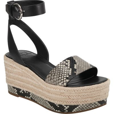 Marc Fisher Ltd Gigli Platform Sandal, Black