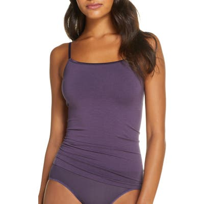 Yummie Seamlessly Shaped Convertible Camisole, Purple