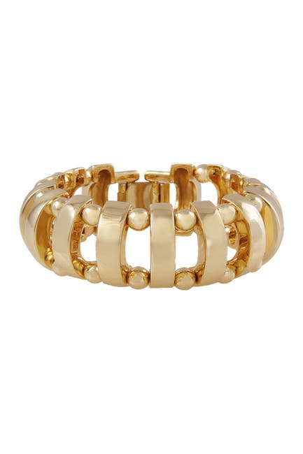 Image of Christian Siriano New York Caged Link Bracelet