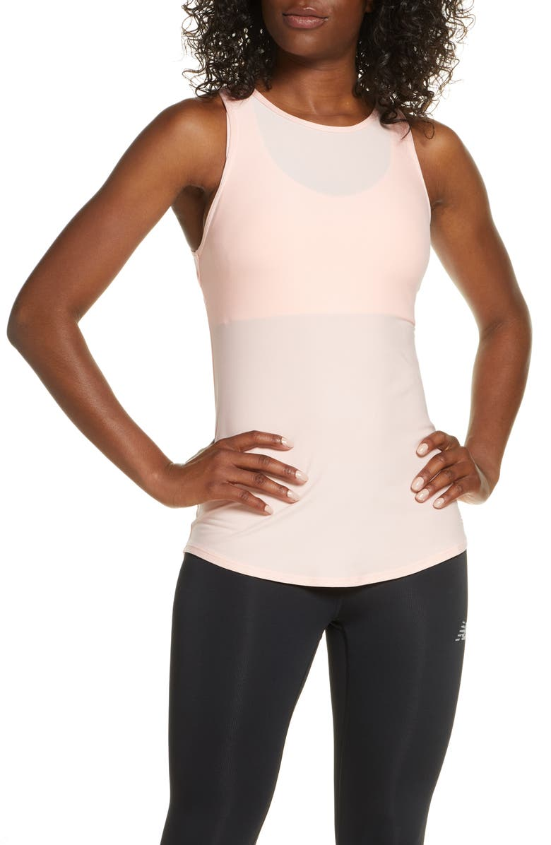 NEW BALANCE Transform Racerback Tank, Main, color, PSA