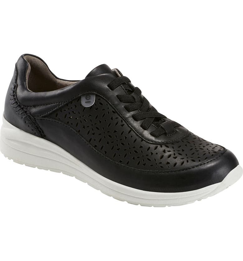 EARTH<SUP>®</SUP> Viva Sneaker, Main, color, BLACK LEATHER