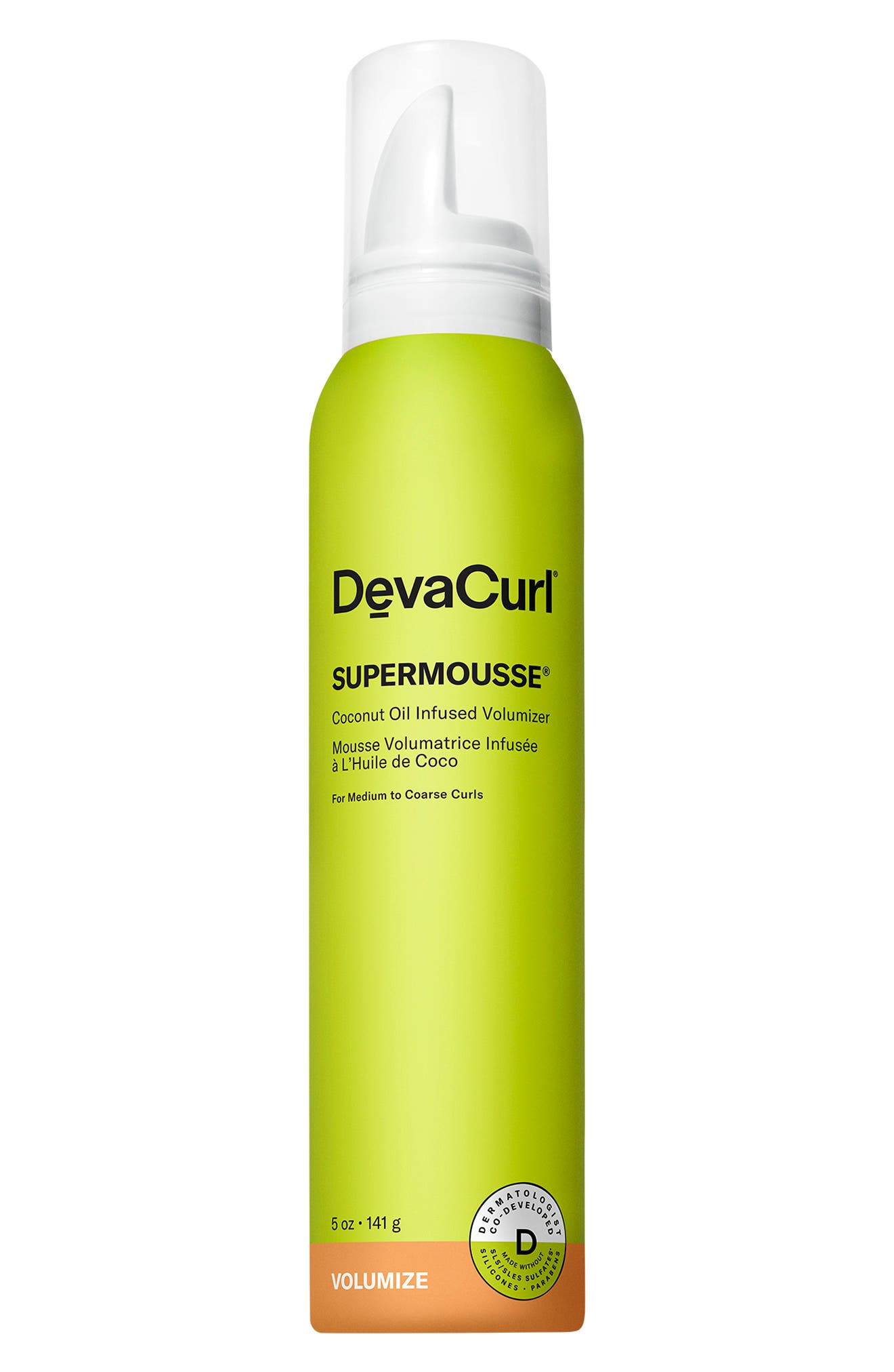 Supermousse Coconut Oil Infused Volumizer