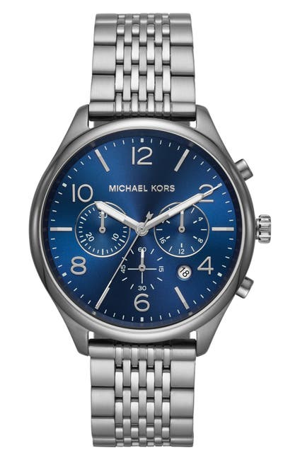 Image of Michael Kors Men's Merrick Chronograph Bracelet Watch, 42mm