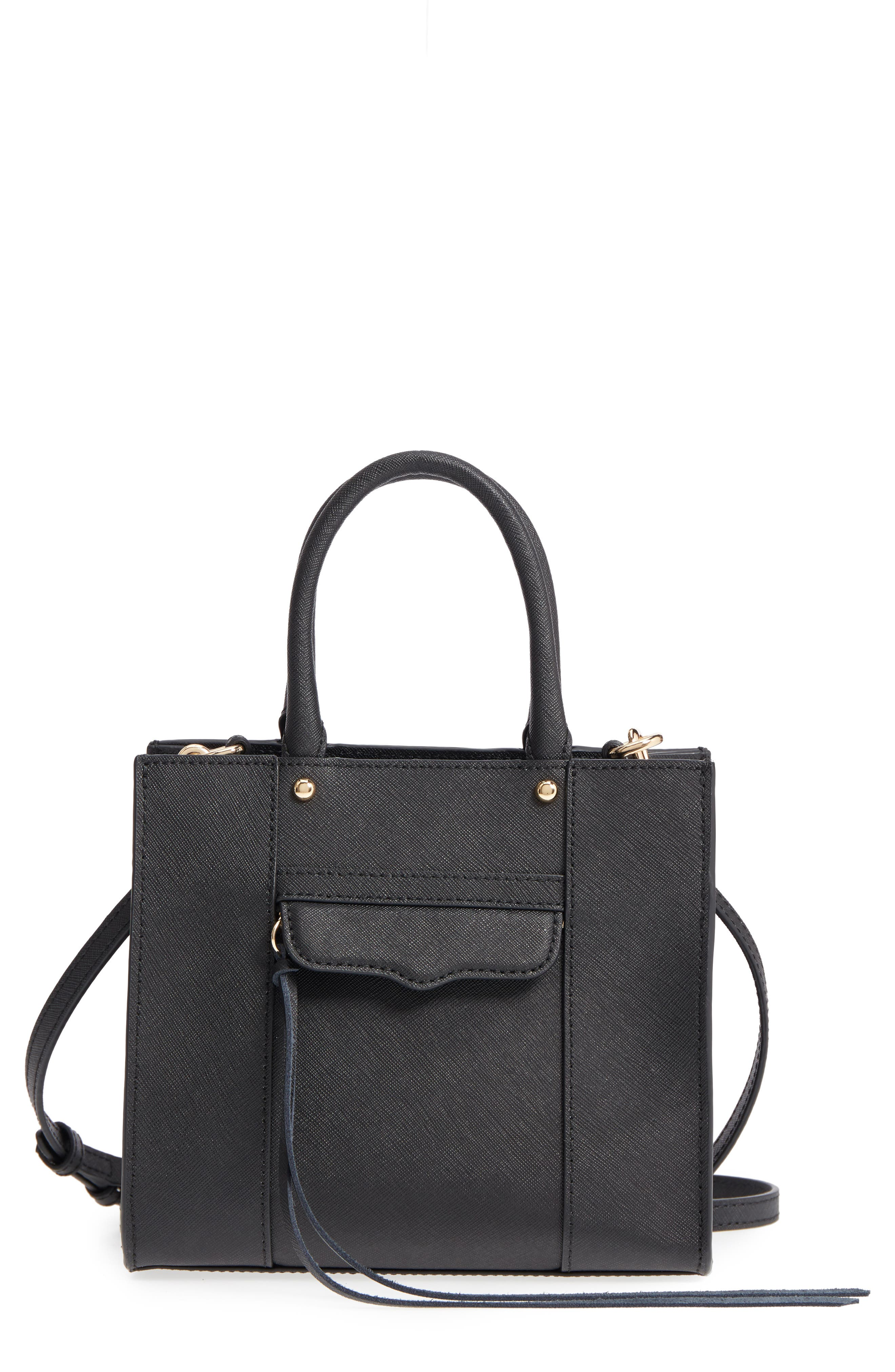 'Mini MAB Tote' Crossbody Bag, Main, color, 005