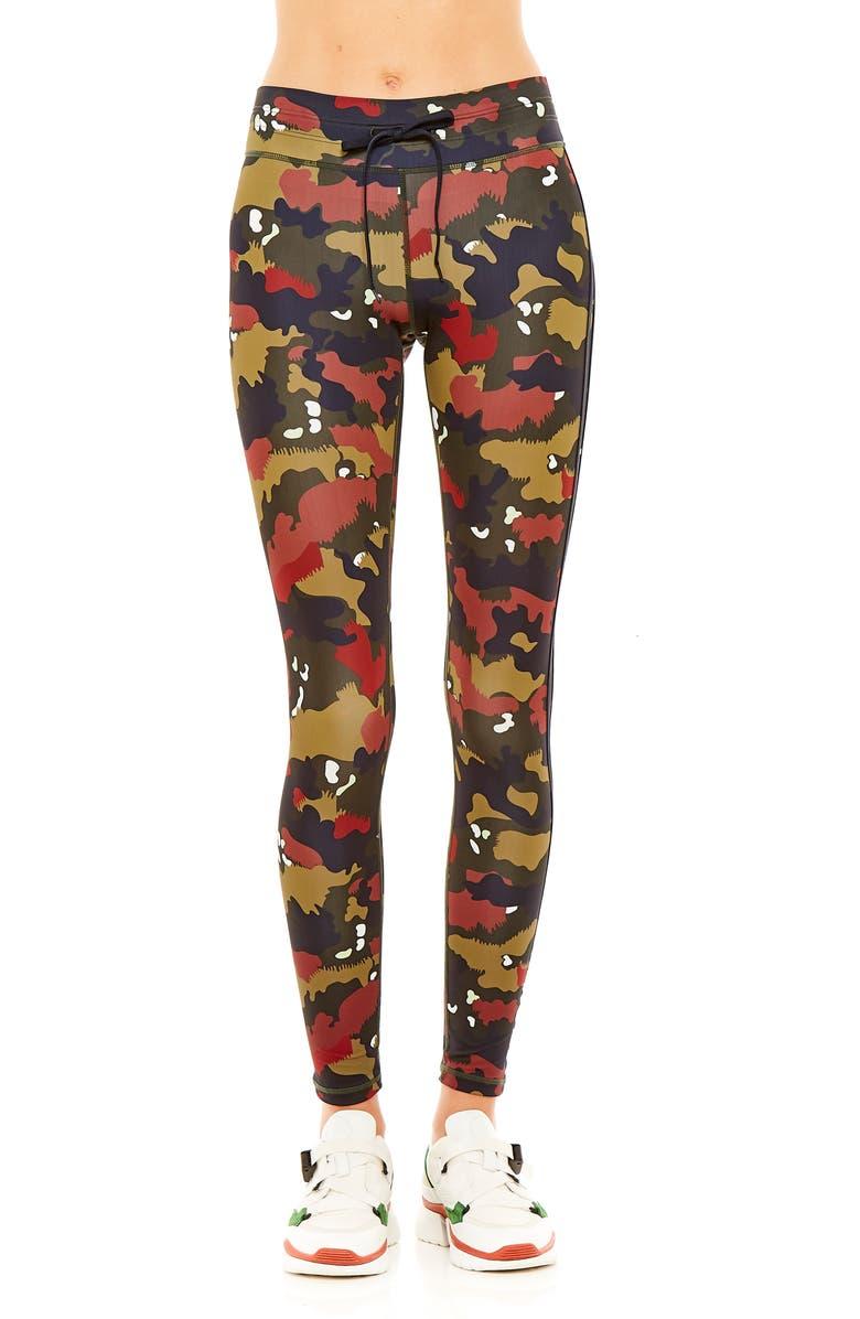 THE UPSIDE Jungle Yoga Pants, Main, color, JUNGLE CAMO