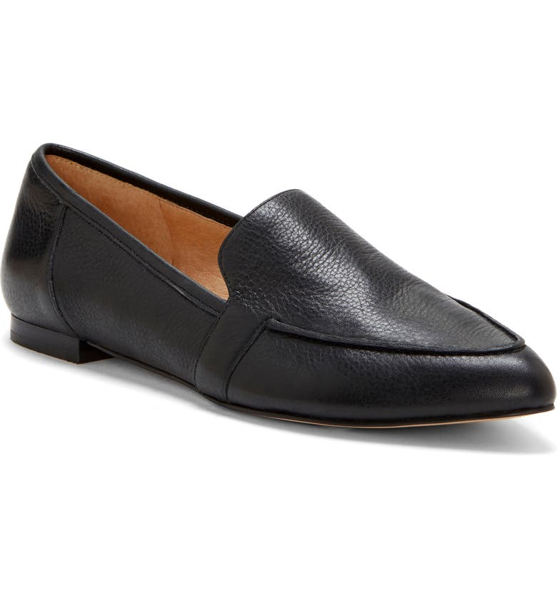 CC CORSO COMO<SUP>®</SUP> Jatiba Loafer, Main, color, BLACK TUMBLED LEATHER
