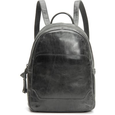 Frye Medium Melissa Calfskin Leather Backpack - Grey