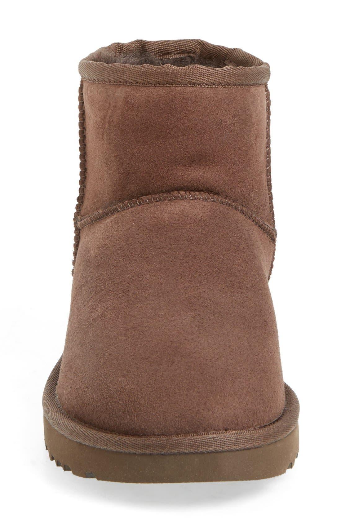 ,                             Classic Mini II Genuine Shearling Lined Boot,                             Alternate thumbnail 122, color,                             201