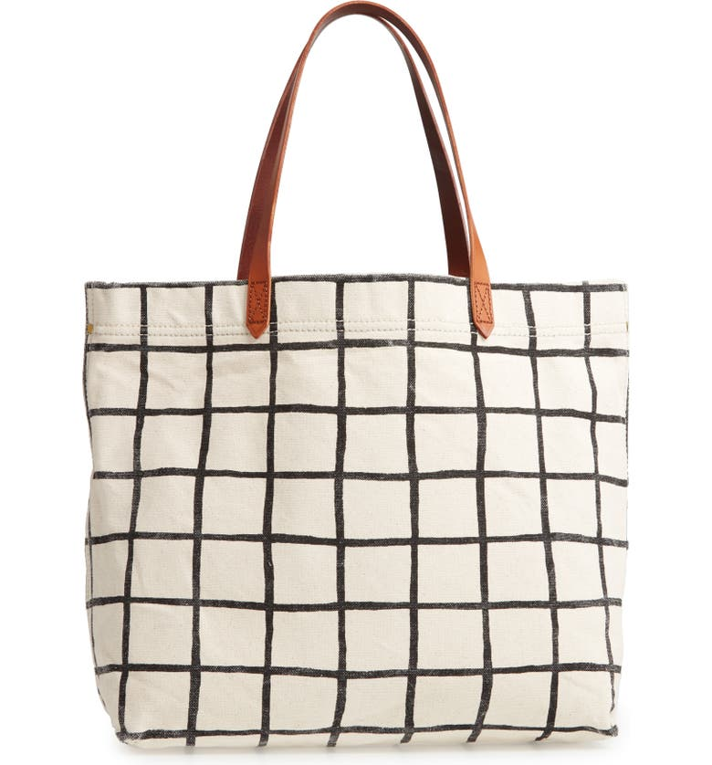 MADEWELL The Canvas Transport Tote, Main, color, 100